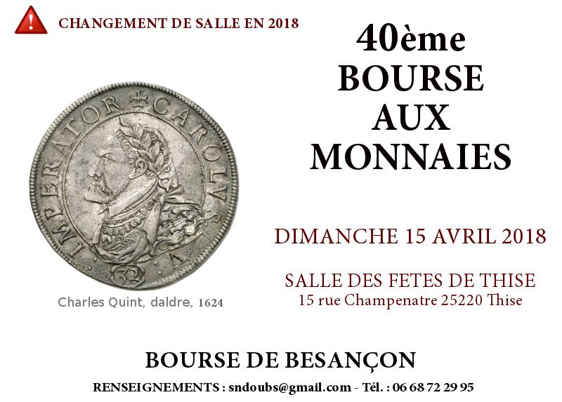 BESANÇON 15 AVRIL 2018  BOURSE2018